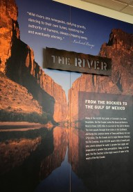 Rio Grande and Santa Elena Canyon Exhibit