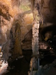 Stalactites Columns Natural-entrance-trail-carlsbad-caverns-national-park