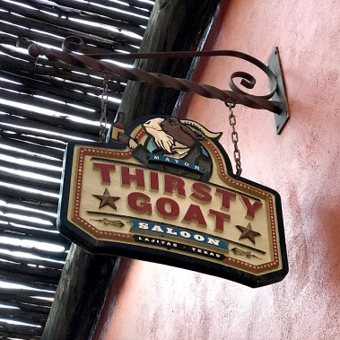 Thirsty Goat Saloon at the Lajitas Golf Resort in Texas