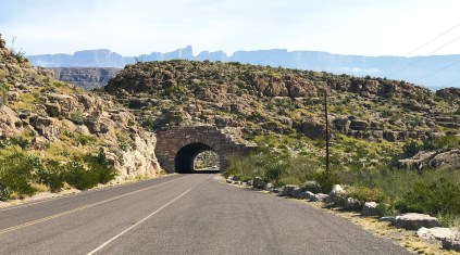 Tunnel Near the Rio Grande Overlook at Big Bend National Park