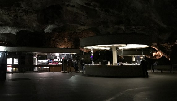 Underground Snack Bar and Lunchroom at Carlsbad Caverns National Park