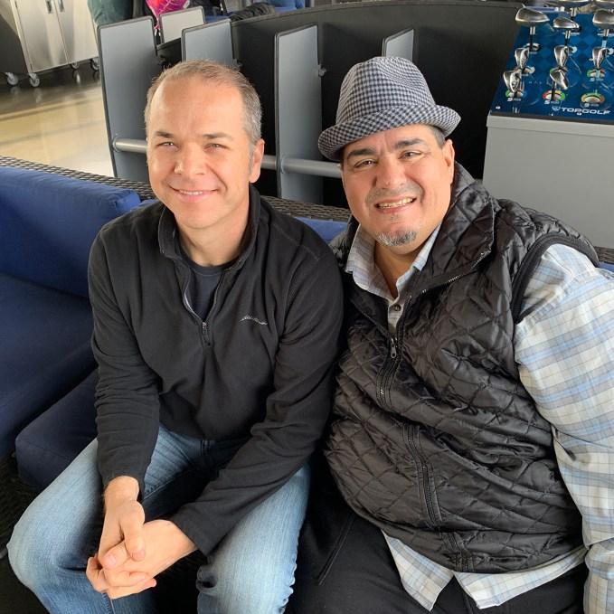 Brian Bourn and Chris Lema