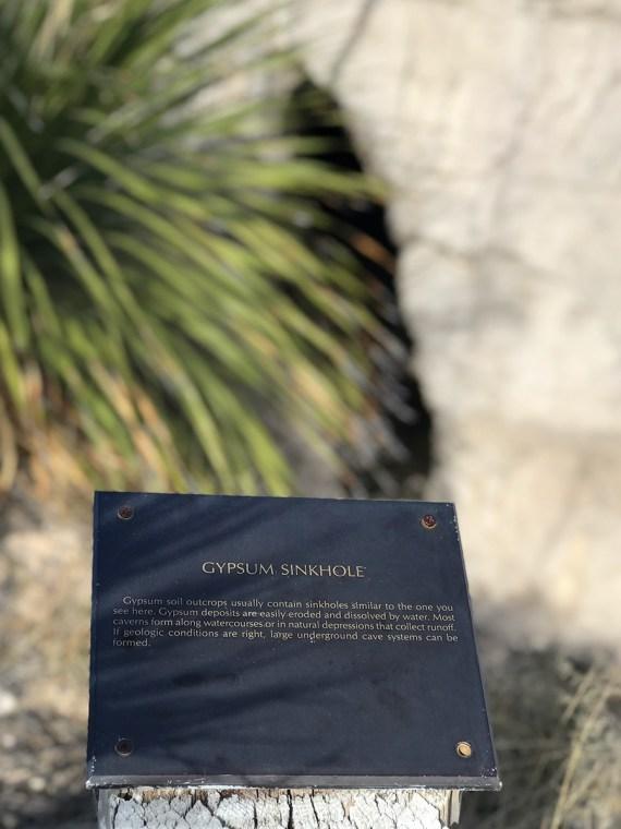 Gypsum Sinkhole