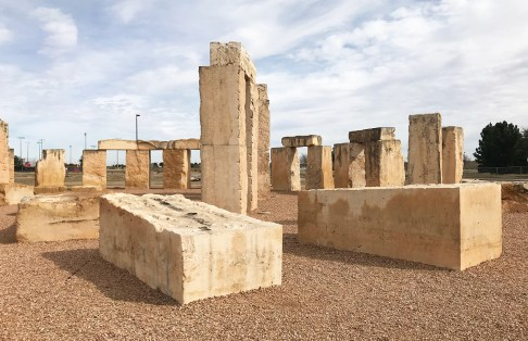 Stonehenge Replica on the campus of University of Texas Permian Basin