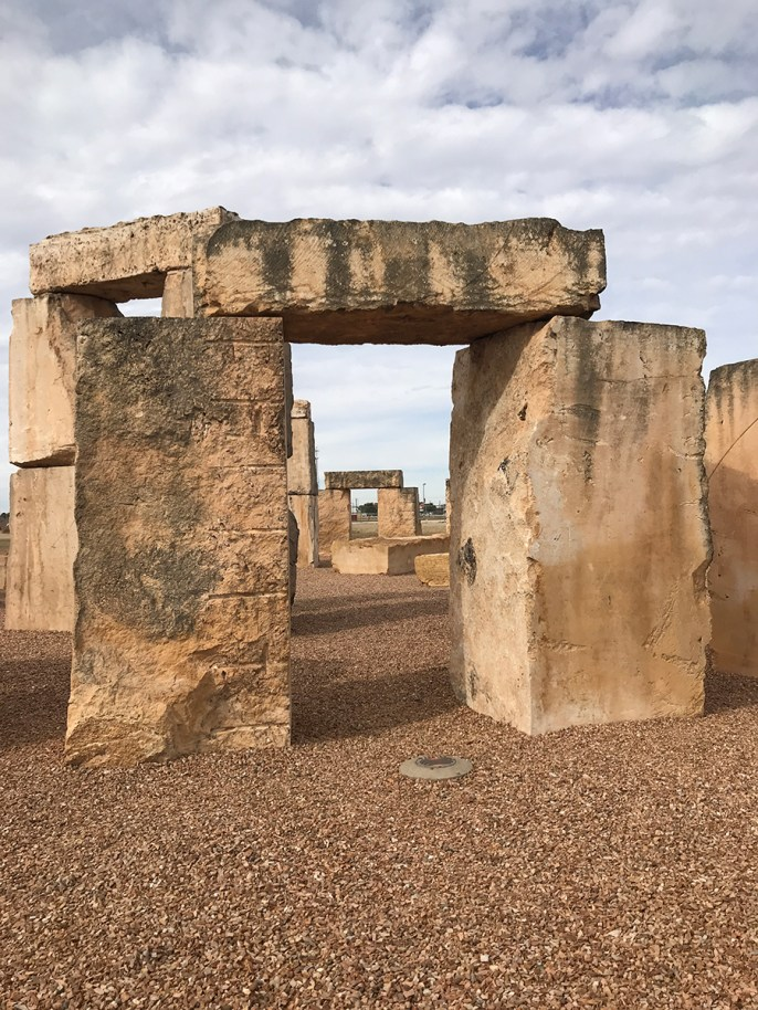 Stonehenge at the University of Texas of The Permian Basin