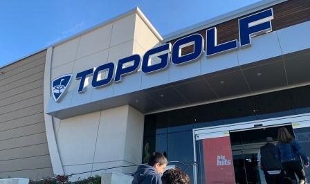 Topgolf Roseville Sign