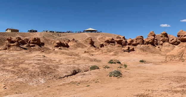 The Goblin Valley Picnic Area And Overlook