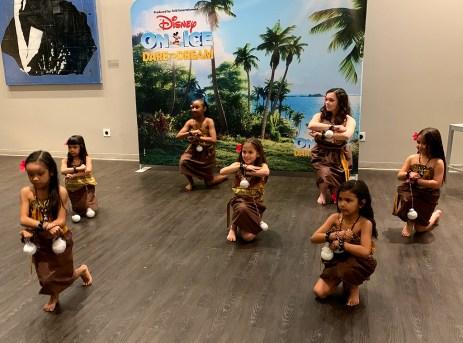 Hula Dancing Kids
