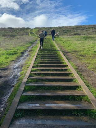 Mori Point Trail Staircase