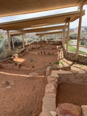 Ancient Anasazi Settlement Ruins
