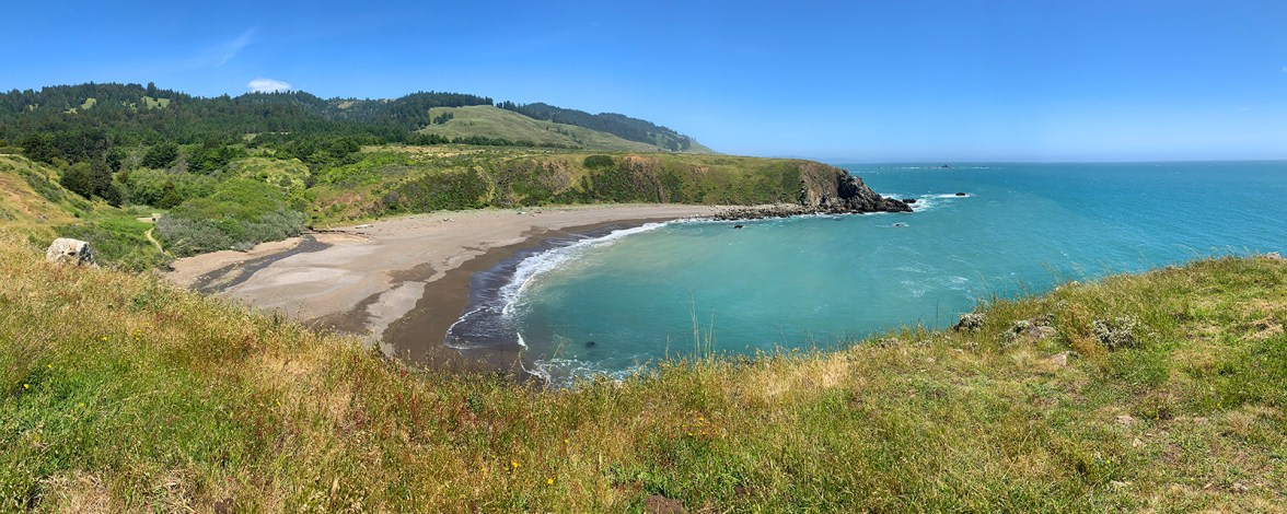 Secluded Beach Cove at Fort Ross State Historic Park