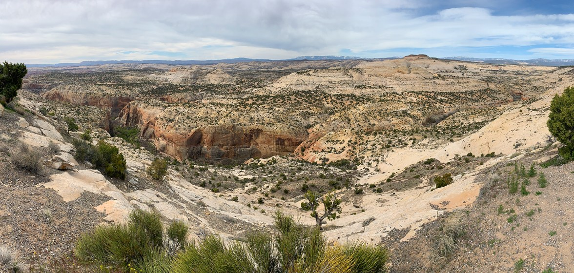 Utah Landscape of Grand-Staircase-Escalante National Monument