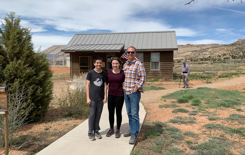 Visiting Hole-In-The-Rock Heritage Center in Escalante