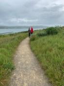 Carter and Brian Bourn Hiking at Bodega Head