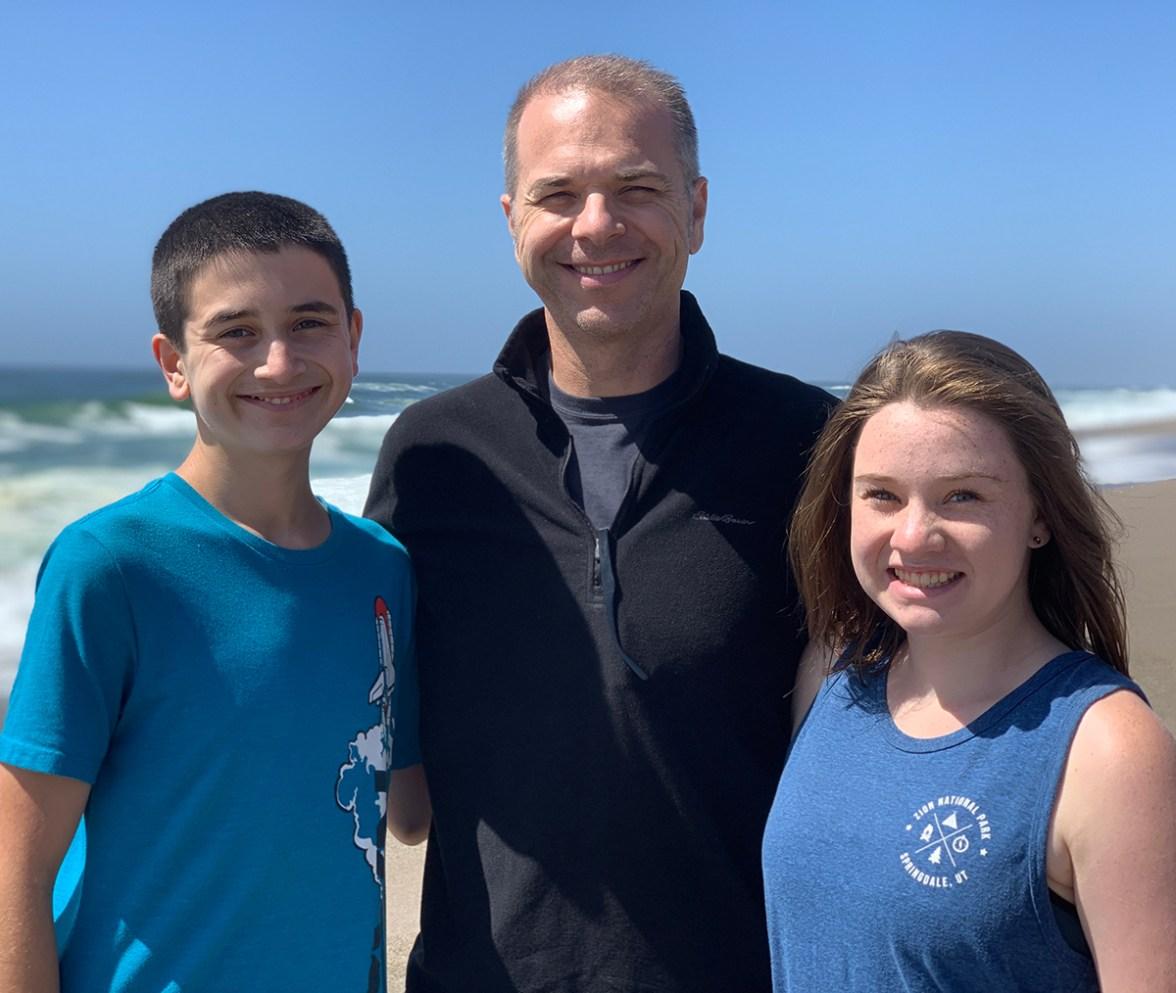 Carter, Brian, Natalie Bourn at North Beach