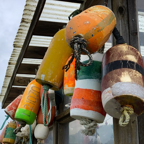 Fishing Buoys in Bodega Bay