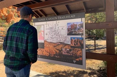 Losee Canyon Trailhead