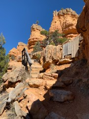 Red Canyon Arches Trail Staircase