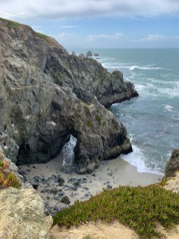 Rock Arch At Bodega Head