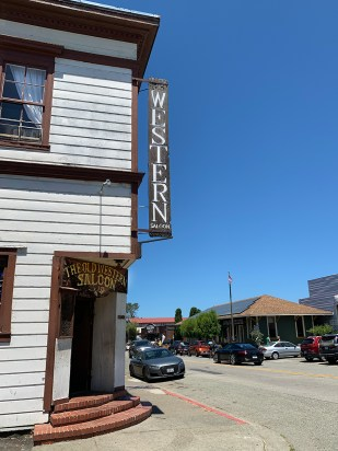 The Old Western Saloon in Point Reyes Station