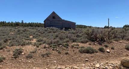 Abandoned Farm Building In Widtsoe