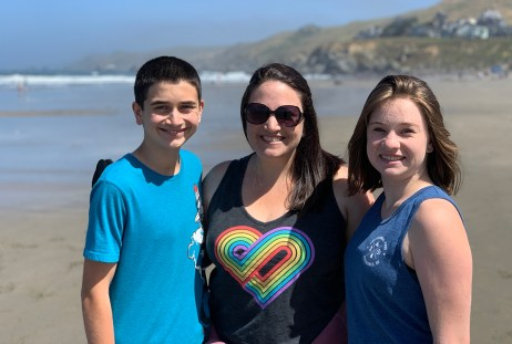 Carter, Jennifer, And Natalie Bourn At Dillon Beach