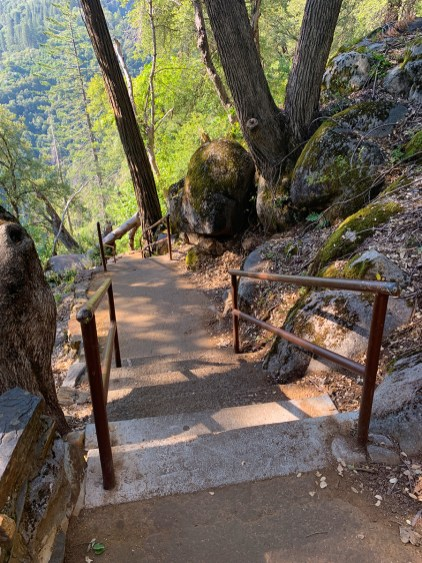 Crystal Cave Trail at Sequoia National Park