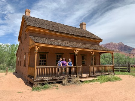 Alonzo Russell Home At The Grafton Ghost Town