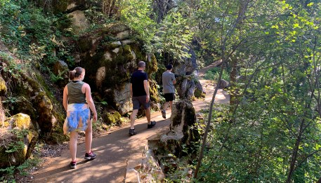 Hiking The Crystal Cave Trail