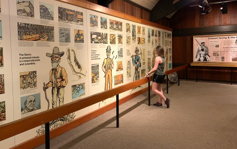 Lodgepole Visitor Center Timeline