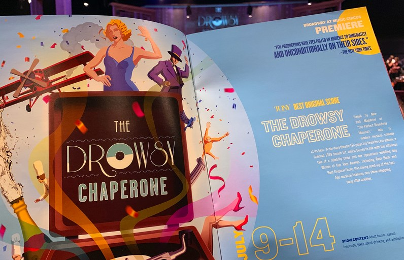 The Drowsy Chaperone Program