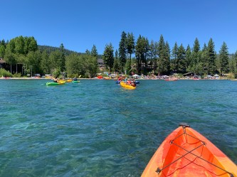 Commons Beach in Tahoe City