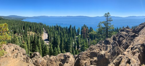 Lake Tahoe Views From Eagle Rock