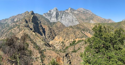 Views of Kings Canyon