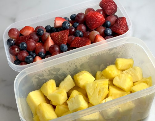 Meal Prep Fresh Fruit