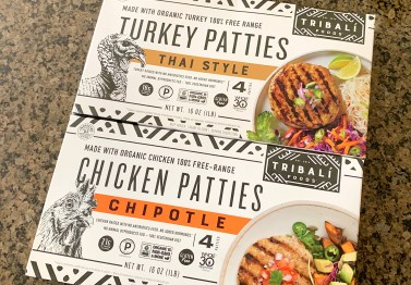 Tribali Foods Whole30 Chicken and Turkey Patties
