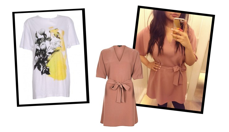 February Favourites Christopher Kane Print T-Shirt River Island Dress Kimono
