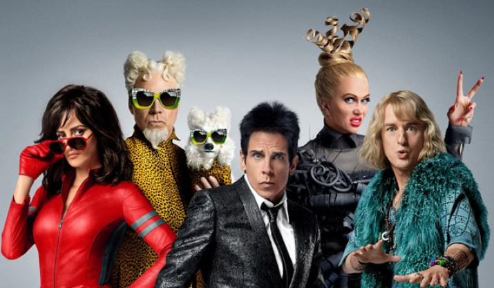 February Favourites Zoolander 2 Ben Stiller Owen Wilson Penelope Cruise Will Ferrell Kristen Wiig Poster