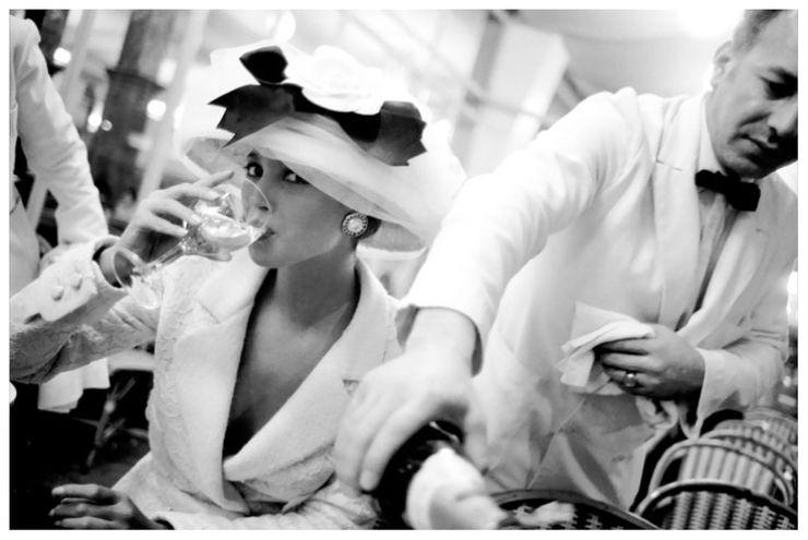 Vogue 100 Christy Turlington La Coupole Paris april 1988