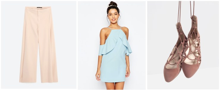 Romantic Spring Summer 2016 Ruffles Shop High Street 2 ASOS Zara