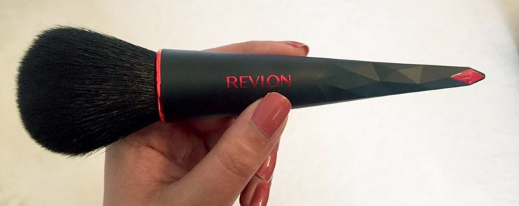 Revlon Powder Make Up Brush Review Contour Highlight Eyebrow Cheek