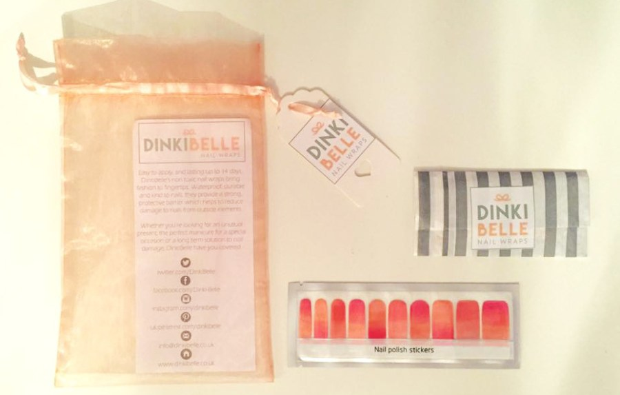 Bloggers Hangout DinkiBelle Nail Wrap Blog Lifestyle Health Wellness Fitness