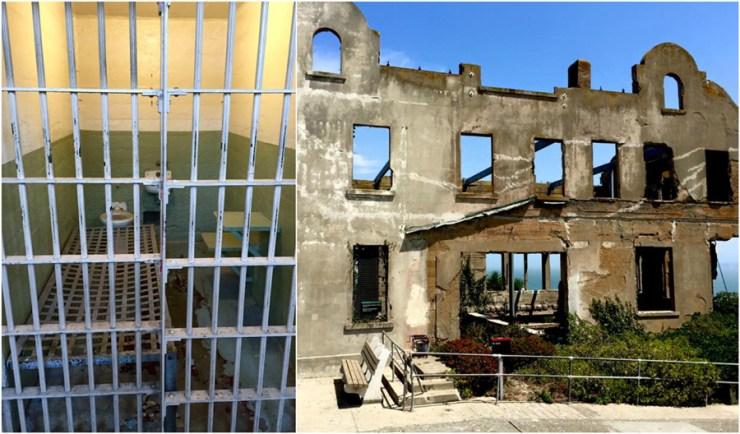Alcatraz Prison Cell Island San Francisco California Ocean, Road Trip USA America Travel