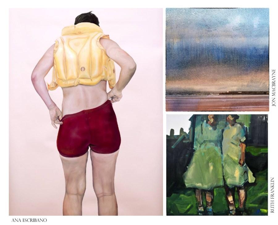 Art Blog Daily Ana Escribano Jon MacBrayne Painting Ruth Franklin