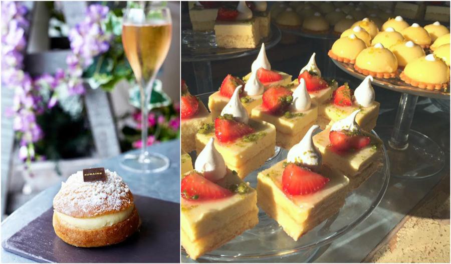 Aubaine Tarte Tropezienne Frasiere Strawberry Orange Dessert French Food Summer En Provence Restaurant Marylebone