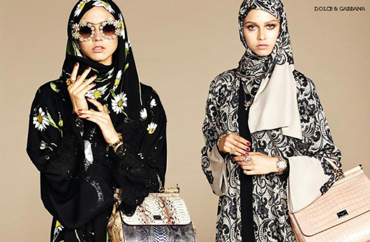 Dolce Gabbana Hijab Caucasian White Models Racism Race