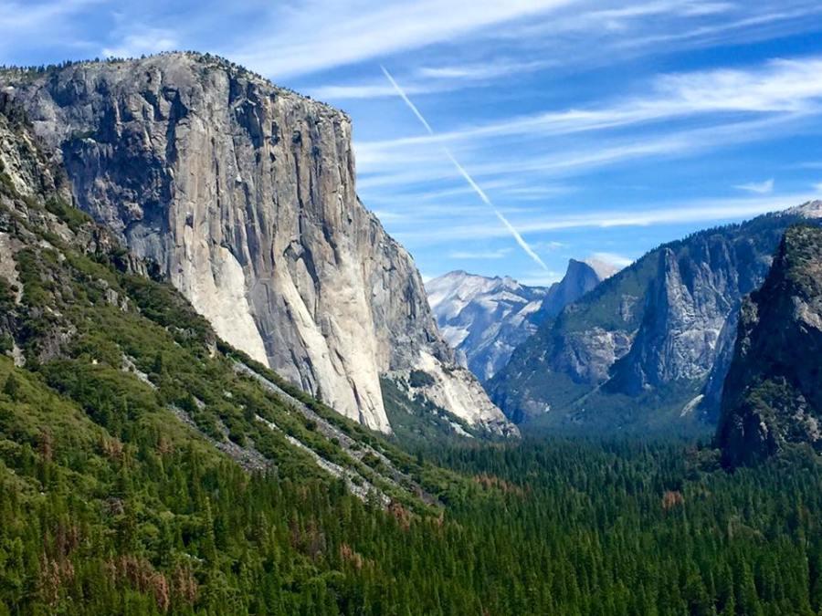 El Capitan Yosemite Hike Tour San Francisco California Ocean, Road Trip USA America Travel