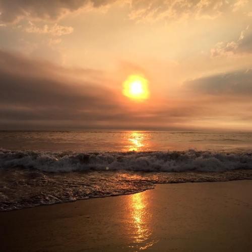 Gold Beach Sunset Sea Ocean Pacific Sun USA West Coast America Roadtrip Oregon