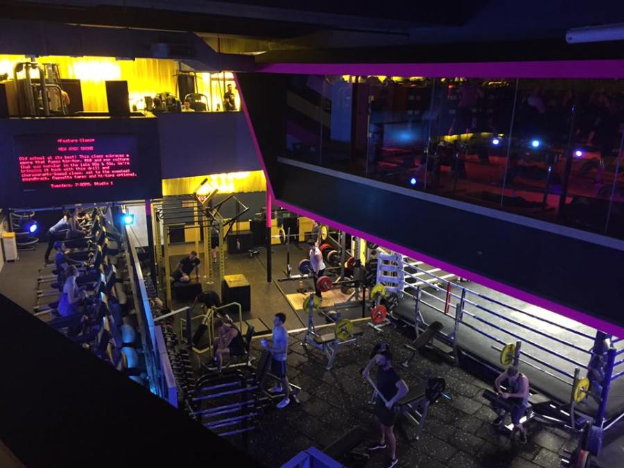 Gymbox Gym Review Rave Class London Covent Garden Weights