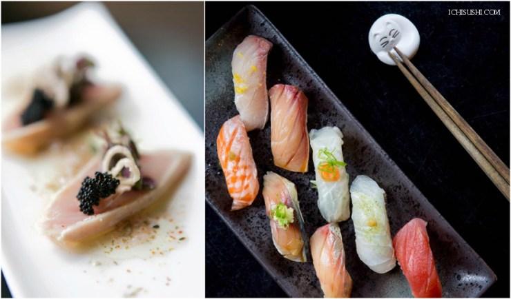 ICHI Sushi Japanese Food Cusine Sashimi Fish Rice San Francisco California Ocean, Road Trip USA America Travel